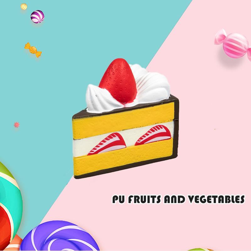 PU 水果和蔬菜-蛋糕