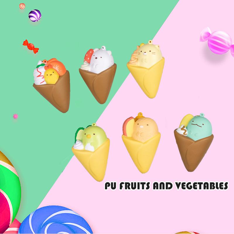 PU 水果和蔬菜-水果味冰激淋