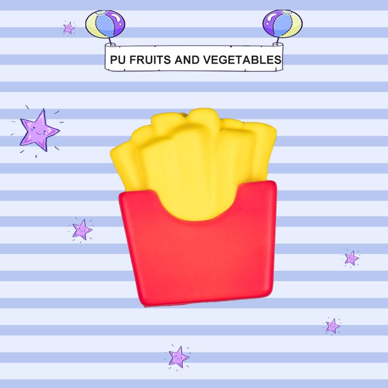PU 水果和蔬菜-炸薯条