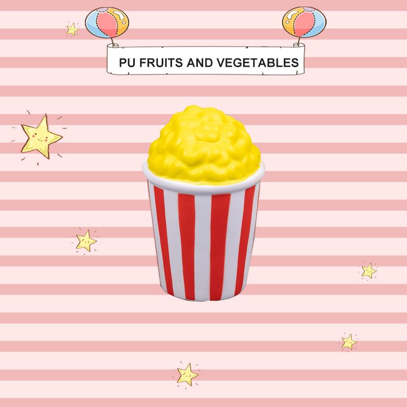 PU 水果和蔬菜-爆米花