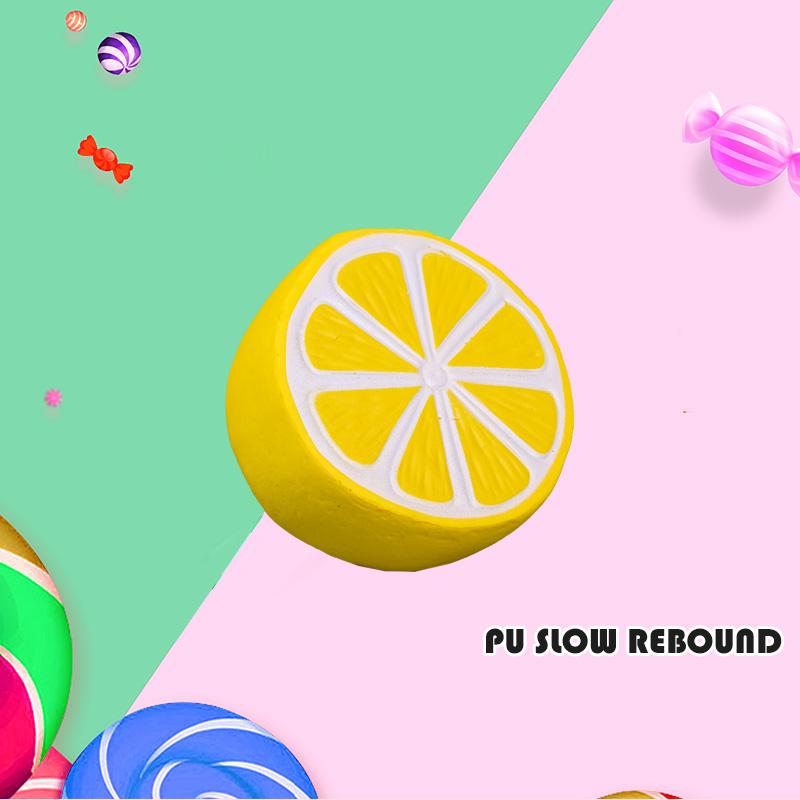 PU 慢回弹-柠檬