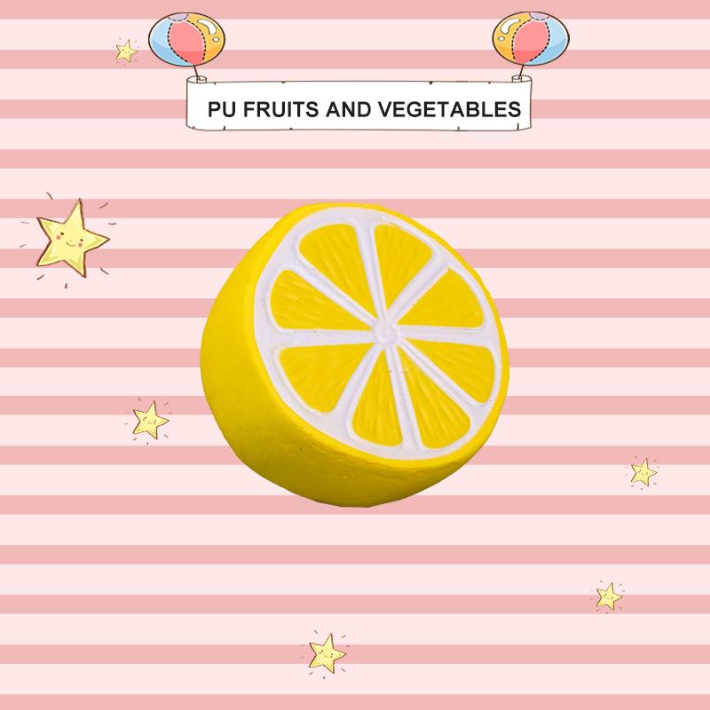 PU 水果和蔬菜-柠檬
