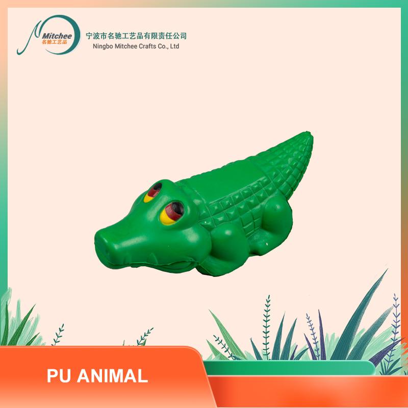 PU 动物玩具-鳄鱼