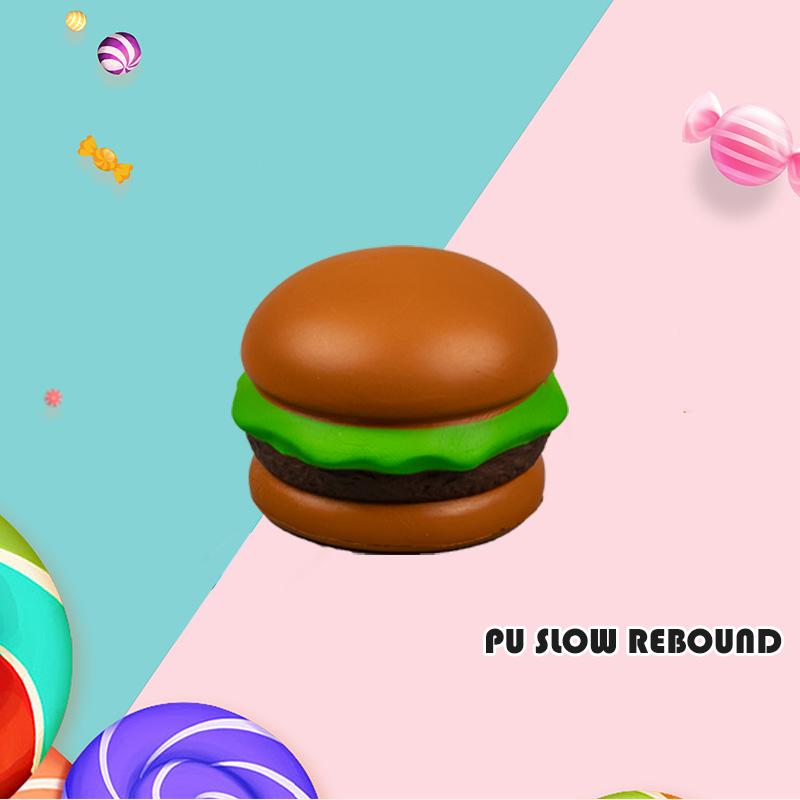 PU 慢回弹-汉堡