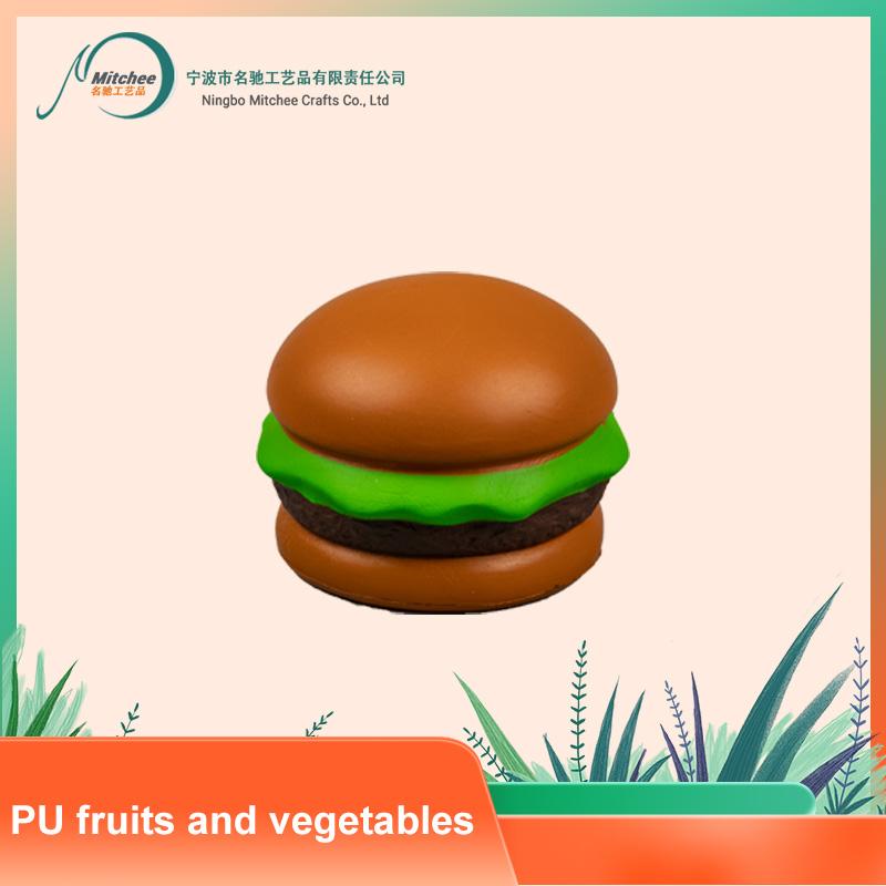 PU 水果和蔬菜-汉堡